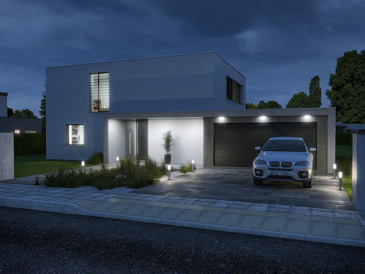 Rodinné moderní bungalovy - projekty pro lepší život  Energy-Domy