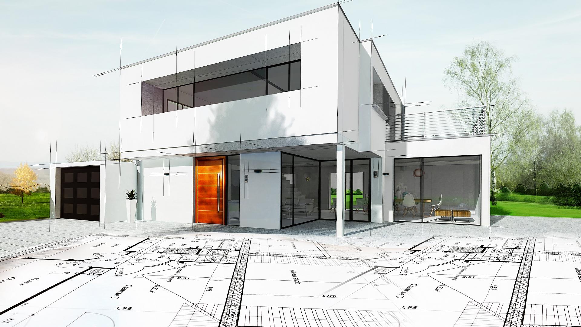 Rodinný dům s plochou střechou: mít či nemít
