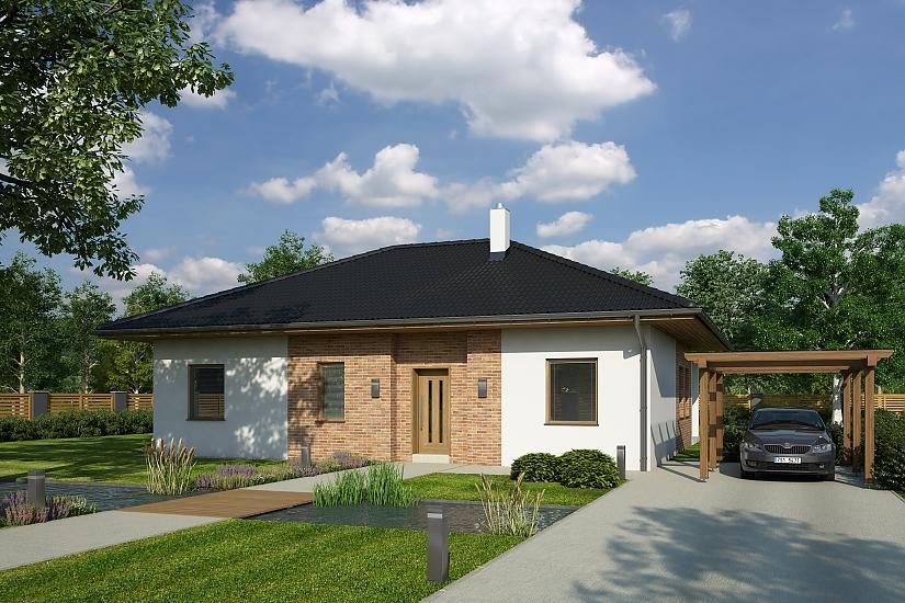 Projekt rodinného domu Tagi obr.985