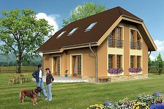 Projekt rodinného domu - Charlie