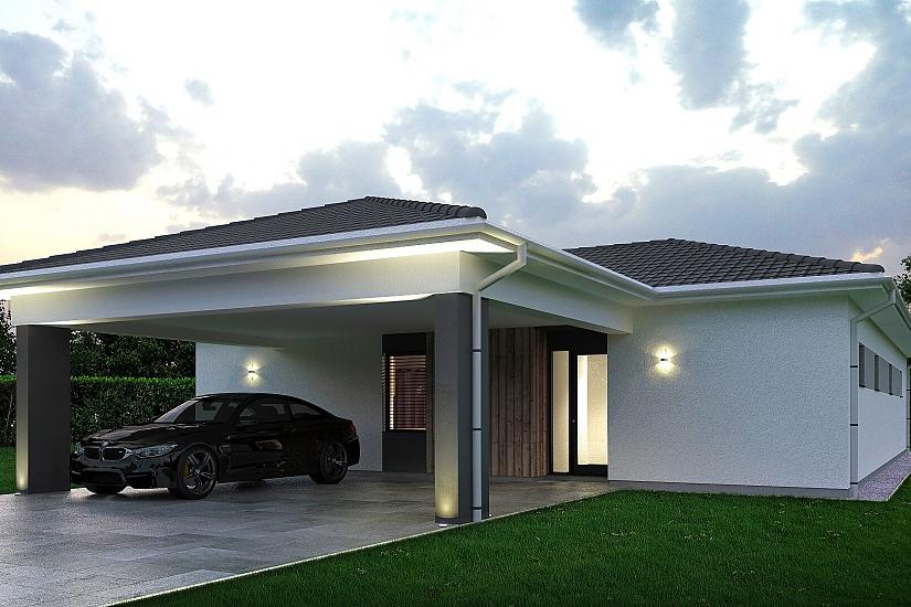 Projekt bungalovu Palmer 608 obr.1008