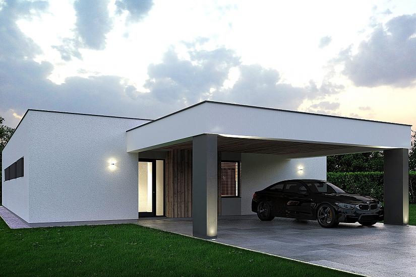 Projekt bungalovu Palmer 607 obr.1011