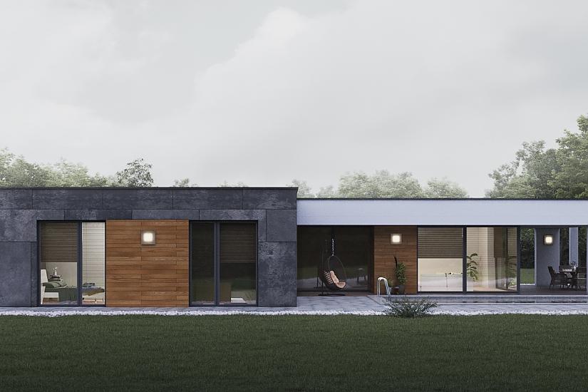 Projekt bungalovu Palmer 611 obr.1019