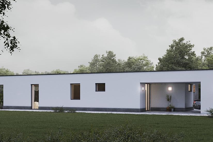 Projekt bungalovu Palmer 611 obr.1020