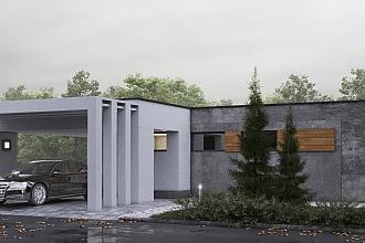 Projekt bungalovu - Palmer 611