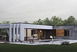 Projekt bungalovu Palmer 611 obr.1022