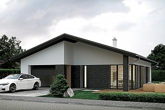Projekt bungalovu - Palmer 606