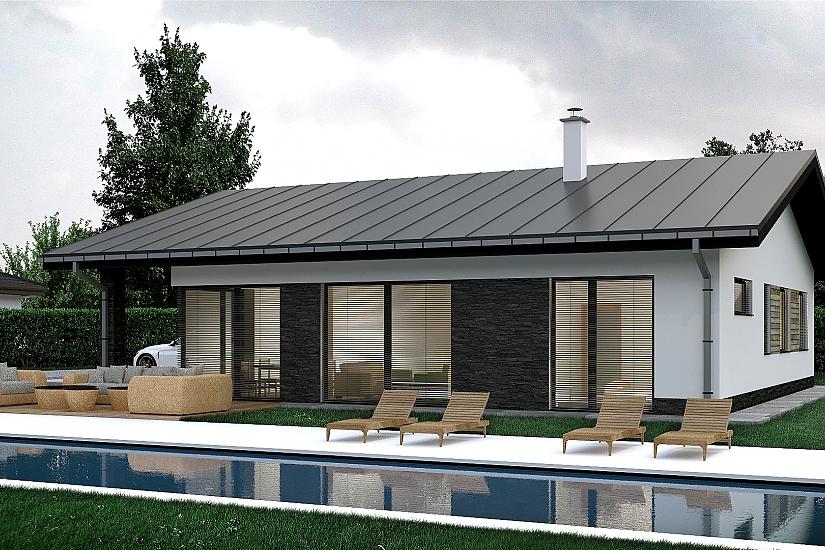 Projekt bungalovu Palmer 606 obr.1024