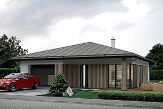 Projekt bungalovu - Palmer 613