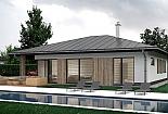 Projekt bungalovu Palmer 613 obr.1026