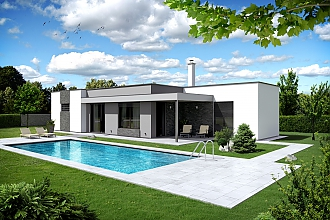 Projekt bungalovu - Palmer 602
