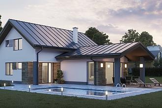 Projekt bungalovu - Poly