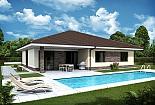Projekt bungalovu Palmer 605 obr.1032
