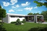 Projekt bungalovu Palmer 601 obr.1037