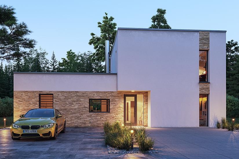 Projekt rodinného domu Pearl obr.1058