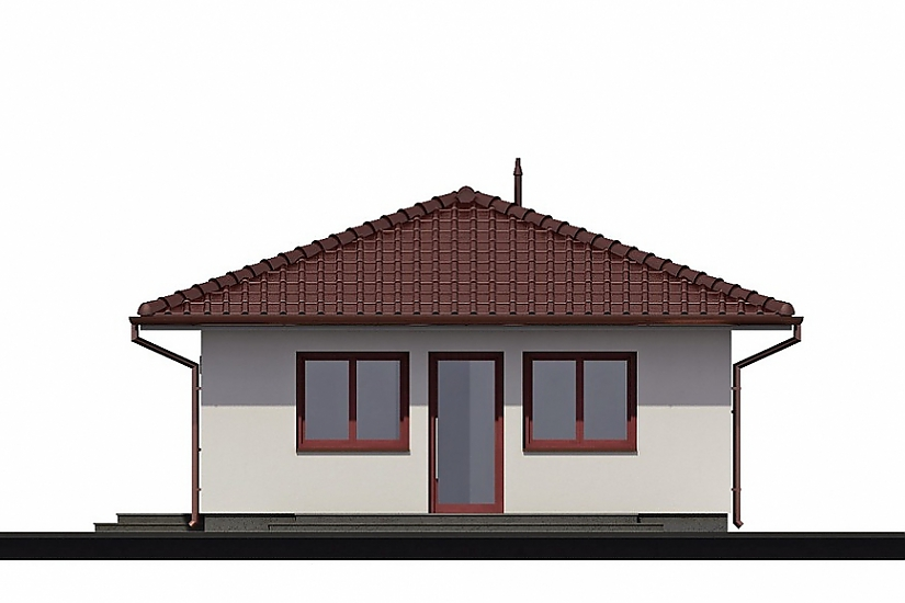 Projekt bungalovu Laguna 9 obr.73