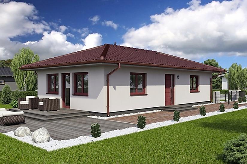 Projekt bungalovu Laguna 9 obr.75