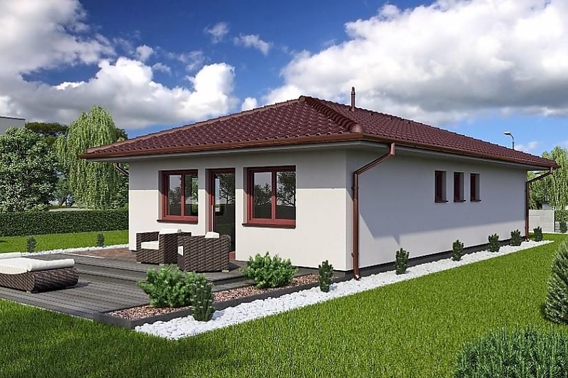 Projekt bungalovu Laguna 9 obr.76