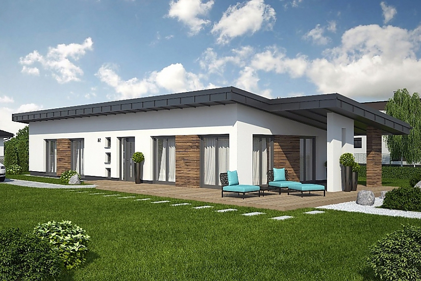 Projekt bungalovu Laguna 14 obr.102