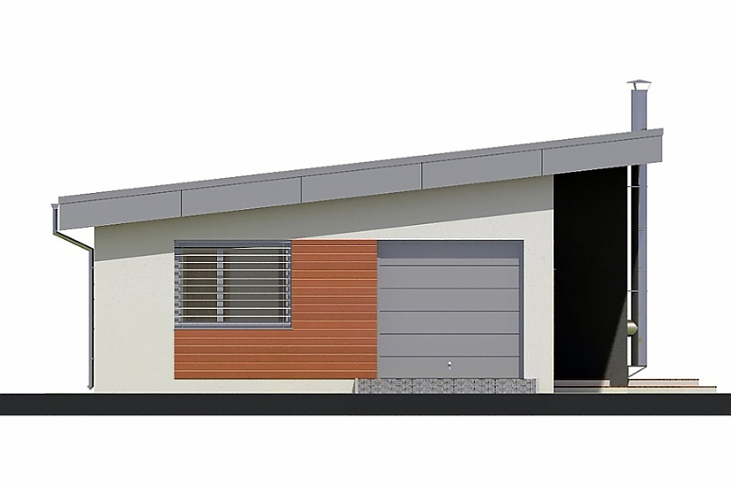Projekt bungalovu Laguna 17 obr.115