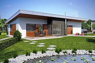 Projekt bungalovu - Laguna 17