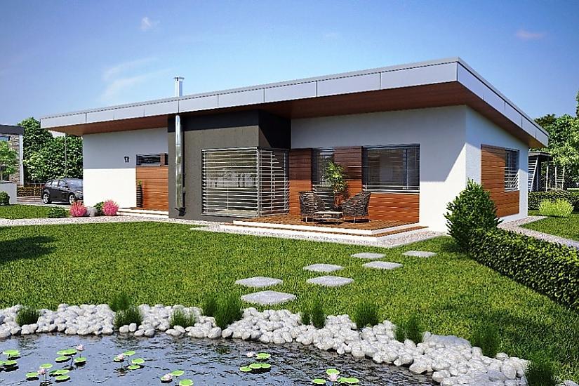 Projekt bungalovu Laguna 17 obr.120
