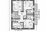 Projekt rodinného domu Pohoda 170 obr.591
