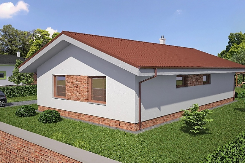 Projekt bungalovu Laguna26 obr.220