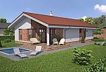 Projekt bungalovu Laguna26 obr.237