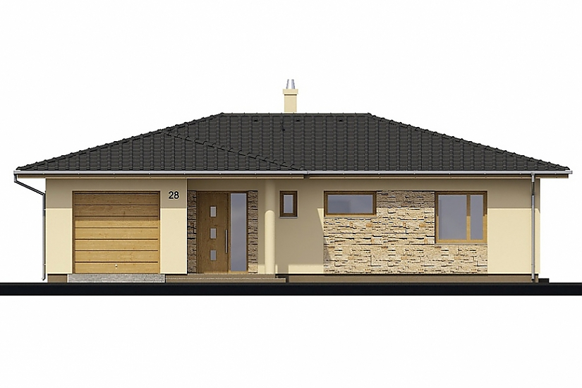 Projekt bungalovu Laguna 28 obr.269