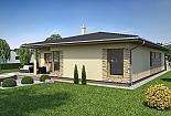 Projekt bungalovu Laguna 28 obr.274