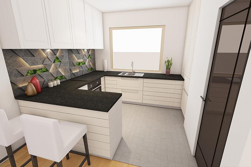 Projekt bungalovu Linear 324 obr.1071