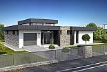 Projekt bungalovu Linear 324 obr.323