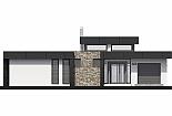 Projekt bungalovu Linear 324 obr.325