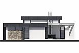 Projekt bungalovu Linear 324 obr.331