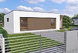 Projekt bungalovu Linear 321 obr.356