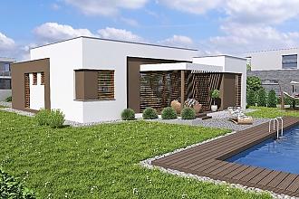 Projekt bungalovu - Linear 321