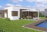 Projekt bungalovu Linear 321 obr.362