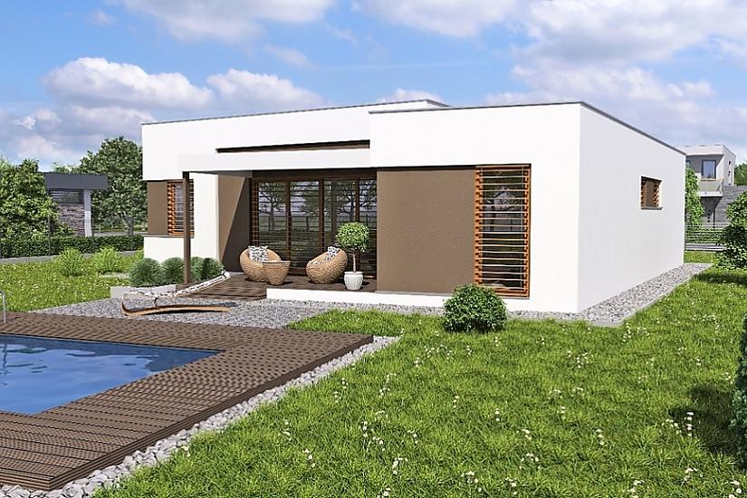 Projekt bungalovu Linear 321 obr.363