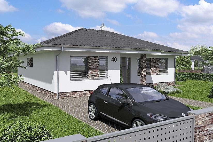 Projekt bungalovu Laguna 40 obr.365