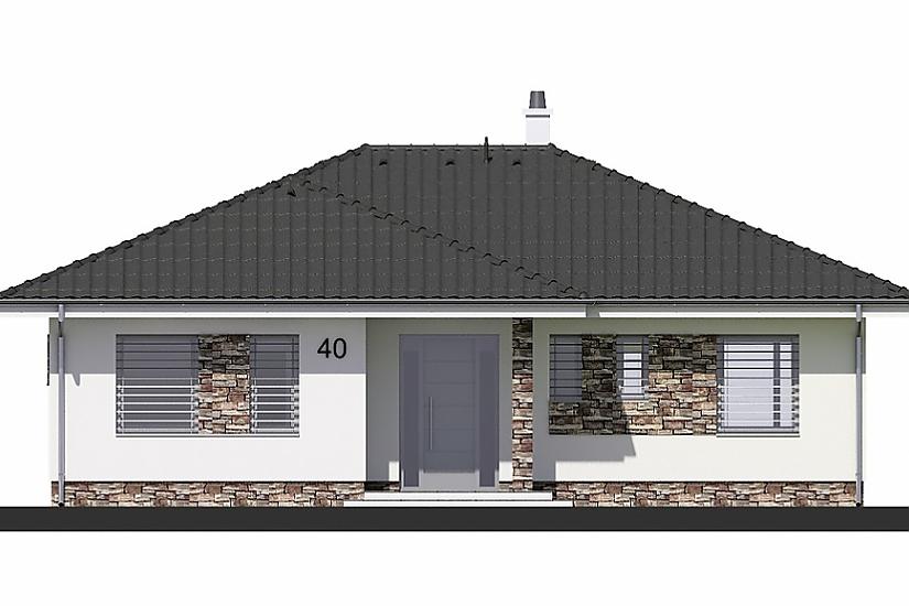 Projekt bungalovu Laguna 40 obr.367