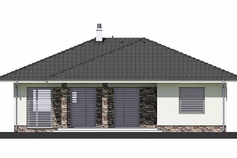 Projekt bungalovu Laguna 40 obr.369