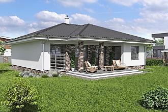 Projekt bungalovu - Laguna 40