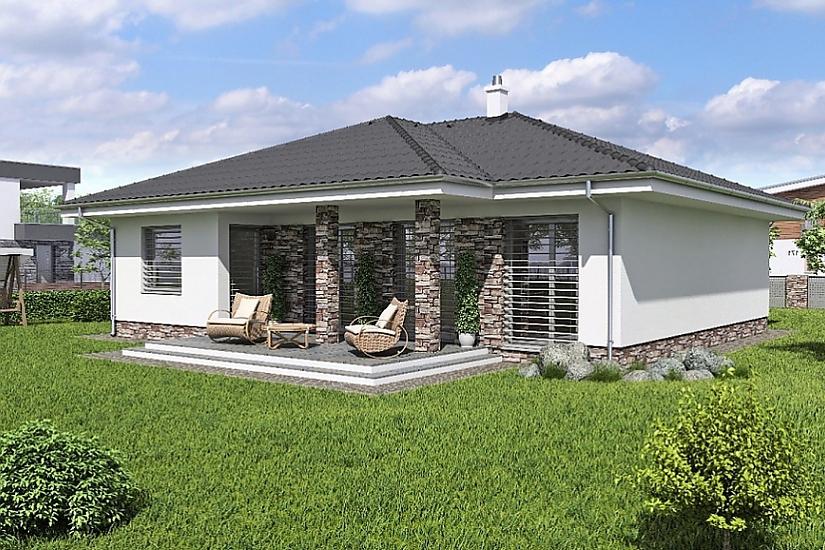 Projekt bungalovu Laguna 40 obr.371