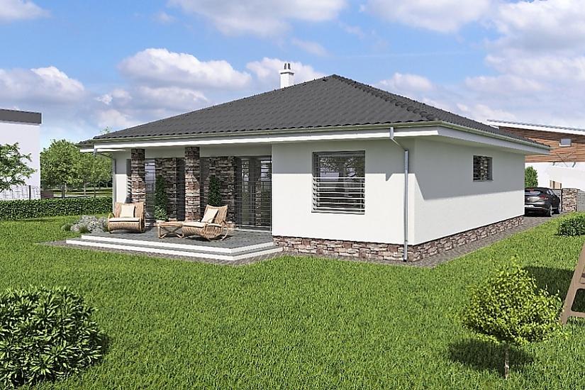 Projekt bungalovu Laguna 40 obr.372