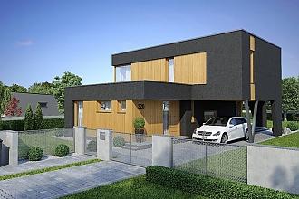 Projekt rodinného domu - Linear 320