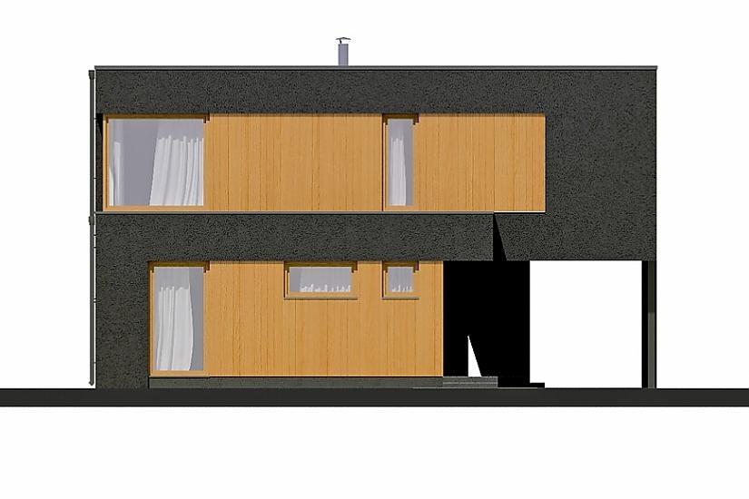 Projekt rodinného domu Linear 320 obr.376