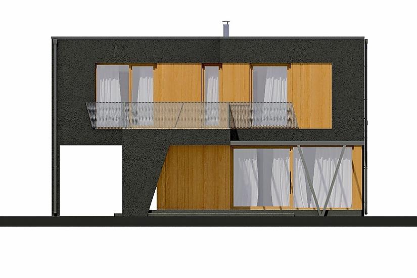 Projekt rodinného domu Linear 320 obr.378