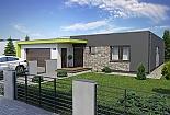Projekt bungalovu Linear 318 obr.393