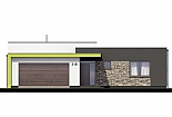 Projekt bungalovu Linear 318 obr.394